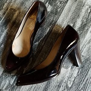 Cole Haan Nike Air Patent Leather Pumps 10B